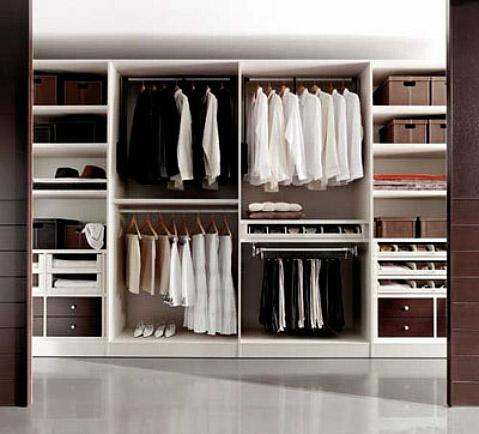 C mo ordenar el armario tu asesor de imagen - Como forrar un armario por dentro ...